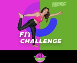 """E' online il nuovo sito sulla FIT CHALLENGE - """"Un modo semplice divertente e magico per allenarsi gratuitamente e tornare o restare in forma"""""""