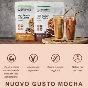 E' uscito il nuovo e gustoso Caffè proteico per la tua estate al TOP